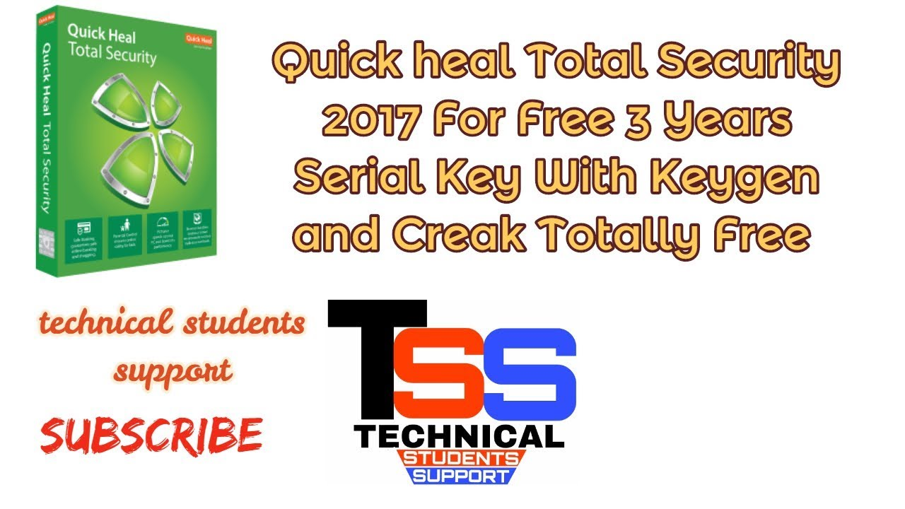 quick heal total security 2015 product key generator free download