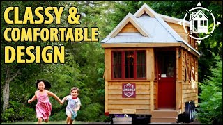 Family Friendly, Large Tiny House With Downstairs Bedroom