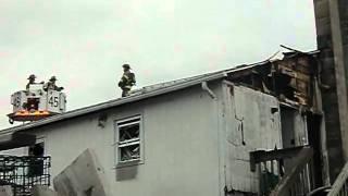 52 Mechanic St house fire Pawcatuck, CT 3/10/11