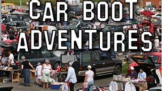 FLEA MARKET/CAR BOOT ADVENTURES #2! Rare Video Game Pick Ups