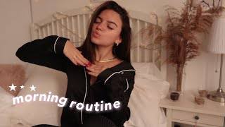REAL MORNING ROUTINE ☁️ | *Online School* | federica
