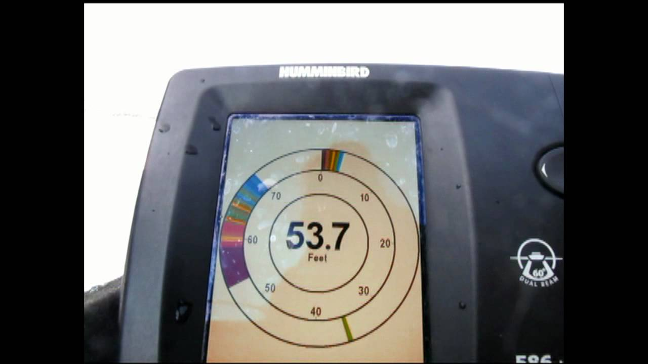 Reading a flasher or ice fishing sonar youtube for Ice fishing flasher