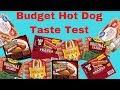 Hot Dog Blind Taste Test