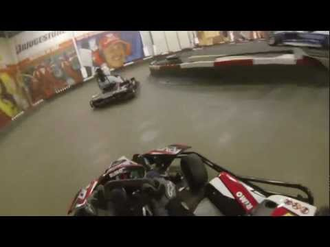 DMC Winterpokal Indoor Kartrennen 2013 Michael Schumacher Kartcenter