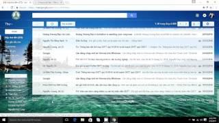 Cách tải tệp dữ liệu từ tài khoản email về máy tính