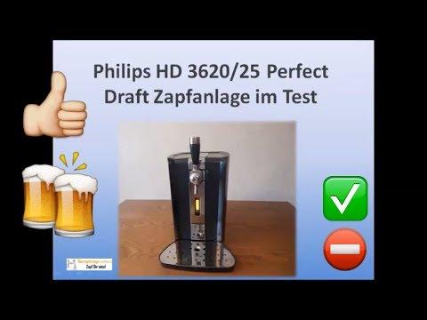 Philips HD 3620/25 Perfect Draft Zapfanlage ► Vor- und Nachteile + Eigene Erfahrung ✅