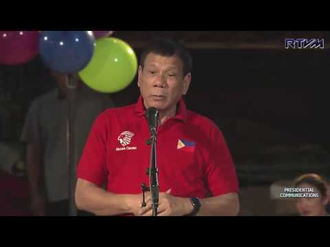 Dinner for the Informal settlers Davao City (Speech) 7/29/20