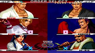 [TAS] The King Of Fighters 98 Unlimited Match - Team Play