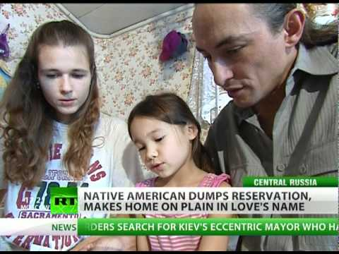 No Reservations: Native American follows Great Spirit to snowy Russia