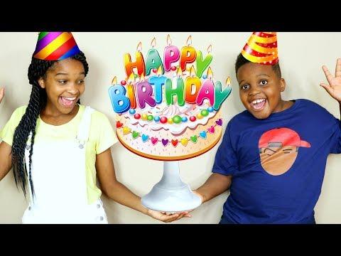 Shiloh and Shasha's BIRTHDAY PARTY! - Onyx Kids