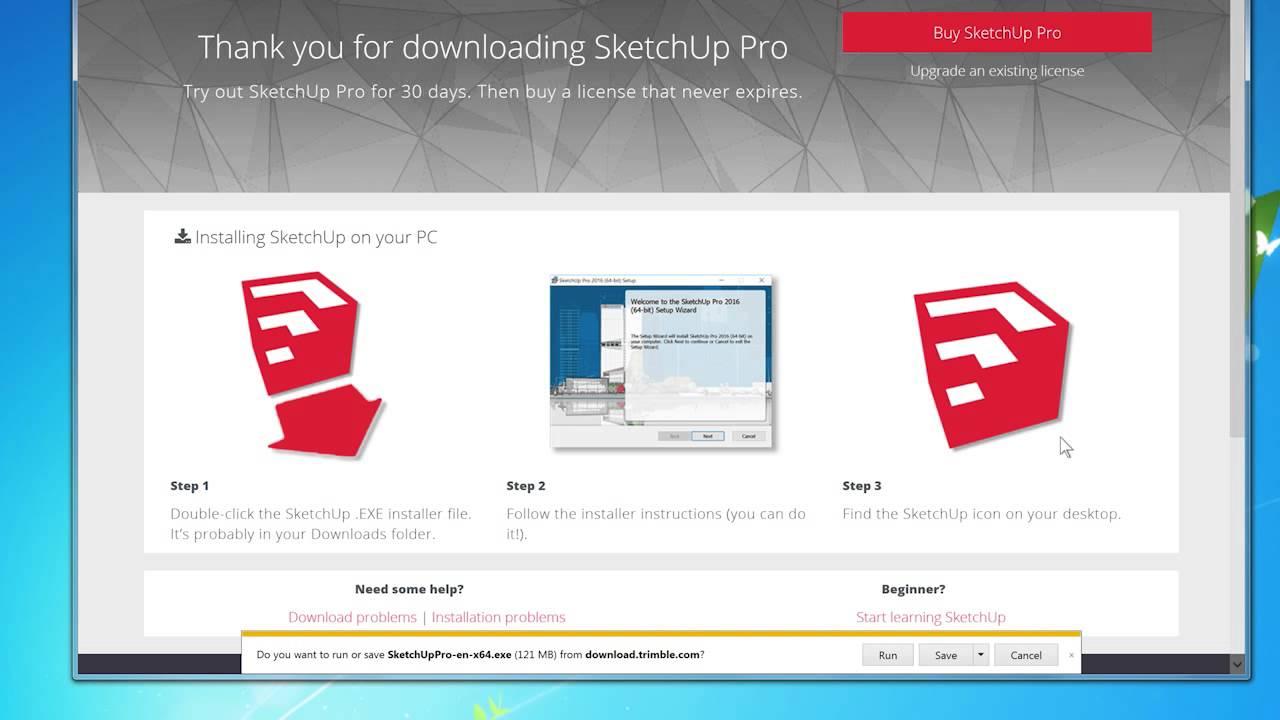 download google sketchup 2017 free full version