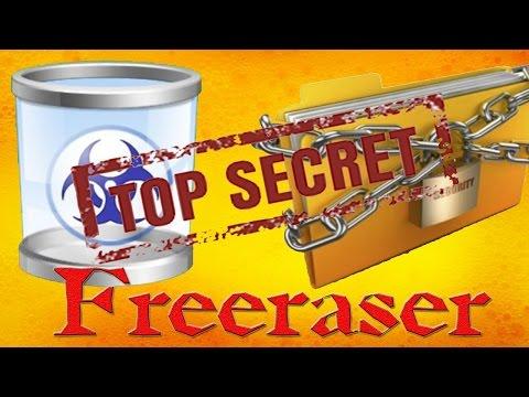 Программа для безвозвратного удаления файлов [Freeraser]