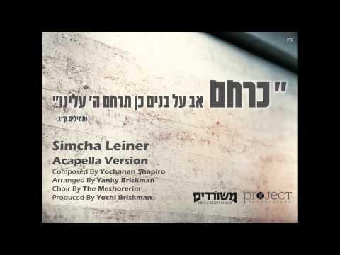Keracheim Acapella | Simcha Leiner (ft. Meshorerim Choir) | כרחם | שמחה ליינר