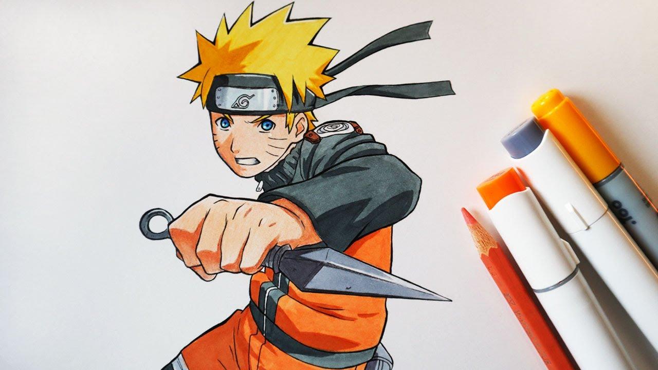 How to Draw Naruto Uzumaki - Step by Step Tutorial | Naruto Shippuden
