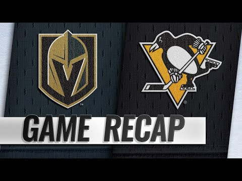 Kessel's hat trick leads Penguins past Golden Knights