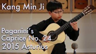 Paganini Caprice No. 24 - Kang Min Ji plays Asturias 'Comfort'