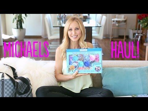 DIY | Michaels Summer Craft Haul + GIVEAWAY!!!