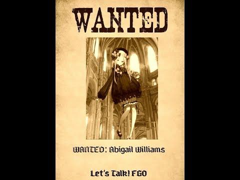 [FGO] WANTED: Abigail Williams, The Silver Key