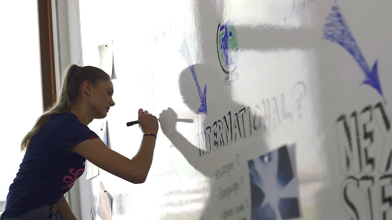 Raum für Ideen: 2K-Aqua Whiteboard 2384 - YouTube