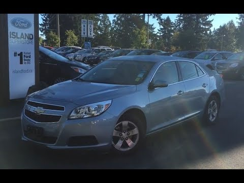 2013 Chevrolet Malibu LT, Backup Camera, Power  Release Trunk Review   - Island Ford