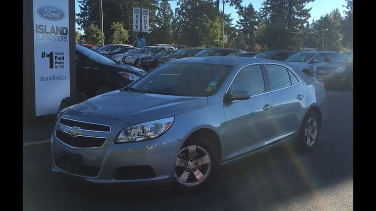 2013 Chevrolet Malibu Lt Backup Camera Power Release Trunk Review Island Ford