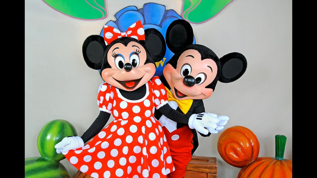 minnie mouse meet and greet disney world