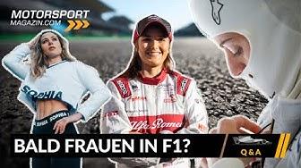 Gibt es bald eine F1-Pilotin? – Formel 1 2020 (Q&A)