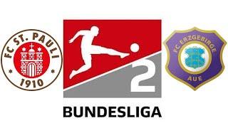 2. bundesliga 11. spieltag 2020/21: fc st. pauli vs erzgebirge aue