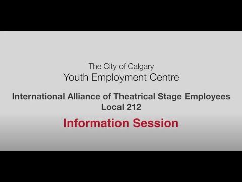 International Alliance of Theatrical Stage Employees Local 212 - Employer Information Session