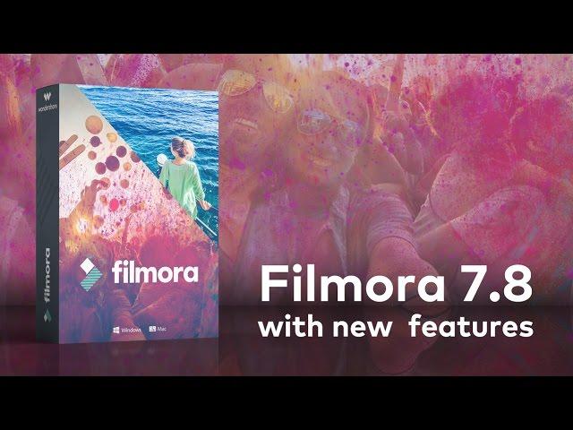 filmora latest version 2018 free download