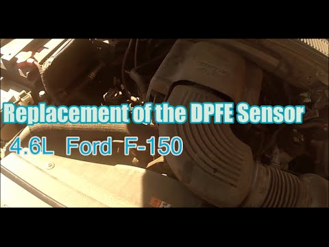 2003 ford f 150 4 6l dpfe sensor replacement youtube. Black Bedroom Furniture Sets. Home Design Ideas