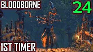 Bloodborne 1st Timer Walkthrough - Part 24 - Forbidden Forest Dangers