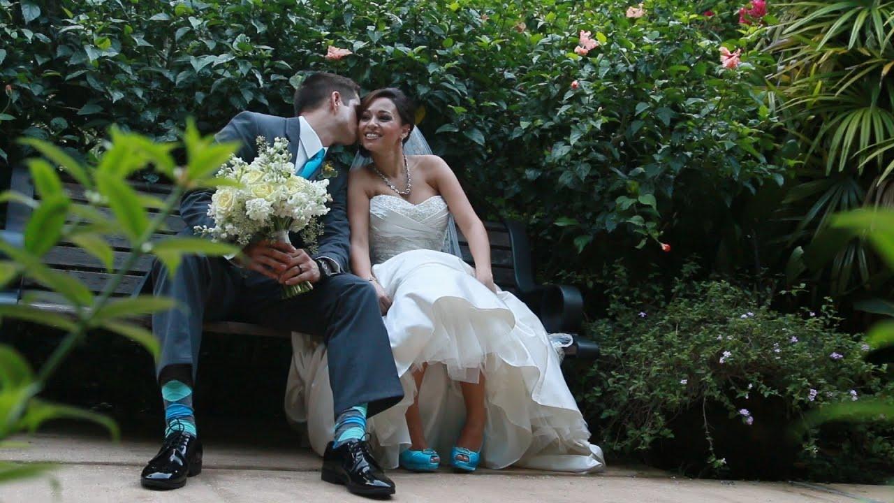 Sunken Gardens Wedding St Petersburg Videographers Youtube