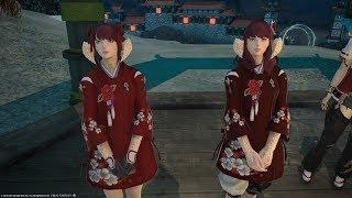 Final Fantasy XIV 4.4 STORMBLOOD!  Millenia/Bayonetta