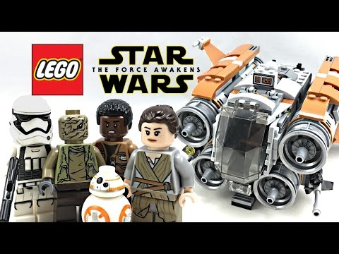 LEGO Star Wars Jakku Quadjumper review! Summer 2017 set 75178!