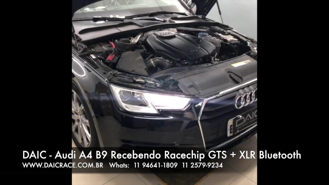 DAIC RACE - Audi A4 B9 190cv 2017 2018 Racechip GTS + XLR Bluetooth
