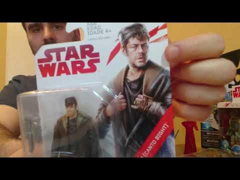 01# Star Wars Last Jedi figurák részletesen 1.rész