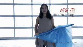 Worship Flag Dance (How to Hold Your Flags) CALLED TO FLAG  banners