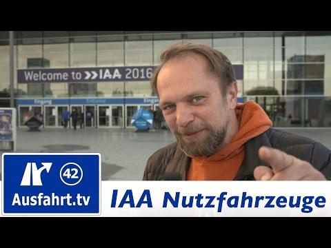 Messe-Rundgang IAA Nutzfahrzeuge 2016