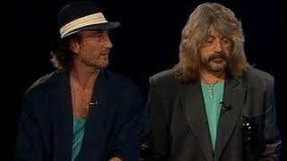 Deep Purple's Jon Lord and Roger Glover discuss the release of Nobody's Perfect in 1988