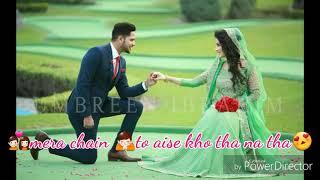 Aisa kabhi pehla hota na tha romantic whatsapp status.