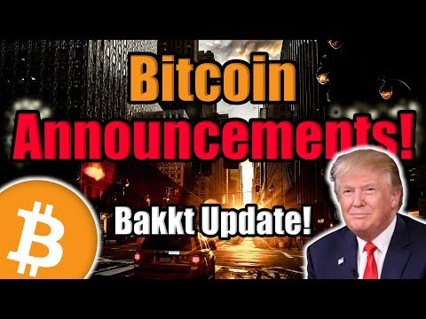 Bakkt Reveals Potential Bitcoin and Crypto Partnerships!? Plus VeChain Announcement! [Crypto News]