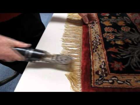 All Purpose Cleaning Systems: Oriental rug fringe cleaning (part 5) 2