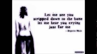 Depeche Mode - Stripped (Reconstructed 2008 Remix).wmv