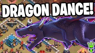HOW LONG CAN A DRAGON STAY ALIVE?! - Dragon Dance Event! - Clash of Clans
