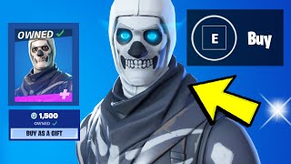 💀Skull Trooper & Skull Ranger are BACK on the Fortnite Item Shop Refresh (NOW)
