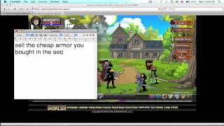 AQW: How To Get No Class (Glitch) [Original]
