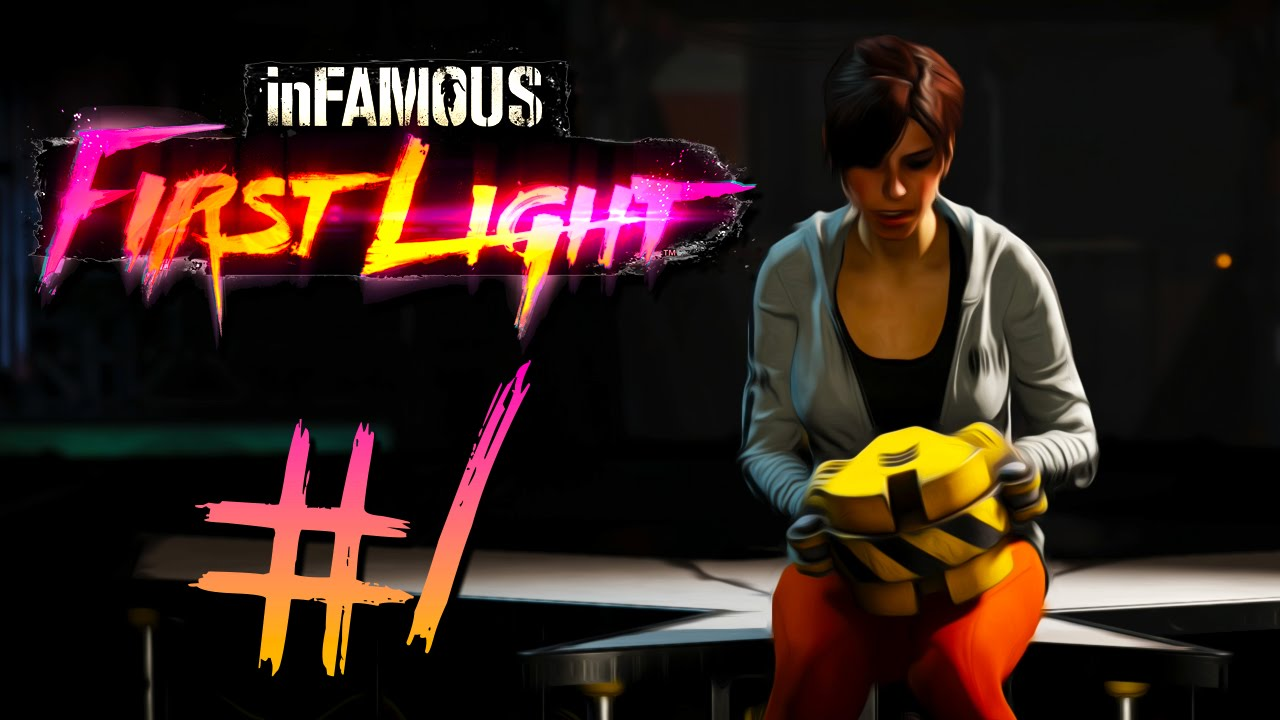 inFAMOUS First Light carnage france niort - YouTube