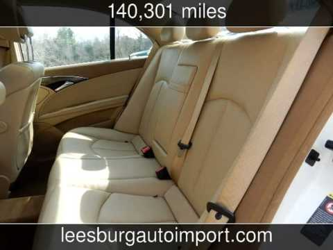 Leesburg Auto Import >> 2007 Mercedes-Benz E350 PANORAMIC ROOF/NAVI/SPORT/PREMIUM PAKGE 3.5L Used Cars - Leesburg ...