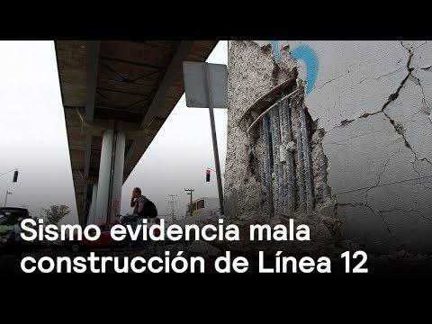 Línea 12 del metro se daña con el sismo - Sismo - En Punto con Denise Maerker
